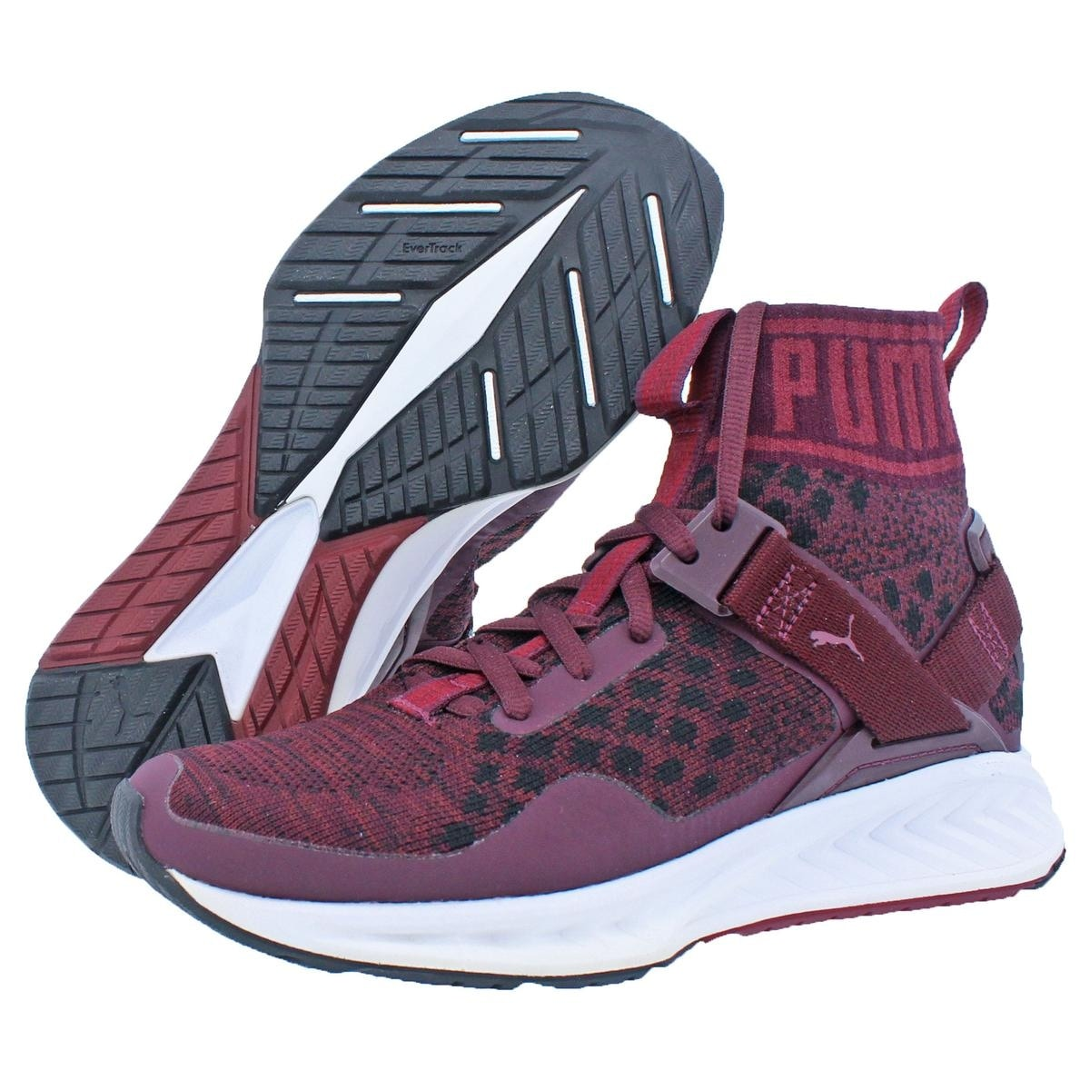 d5185965d3e9 Shop Puma Womens IGNITE evoKNIT Trainers High Top Evertrack - Free Shipping  Today - Overstock - 21942730