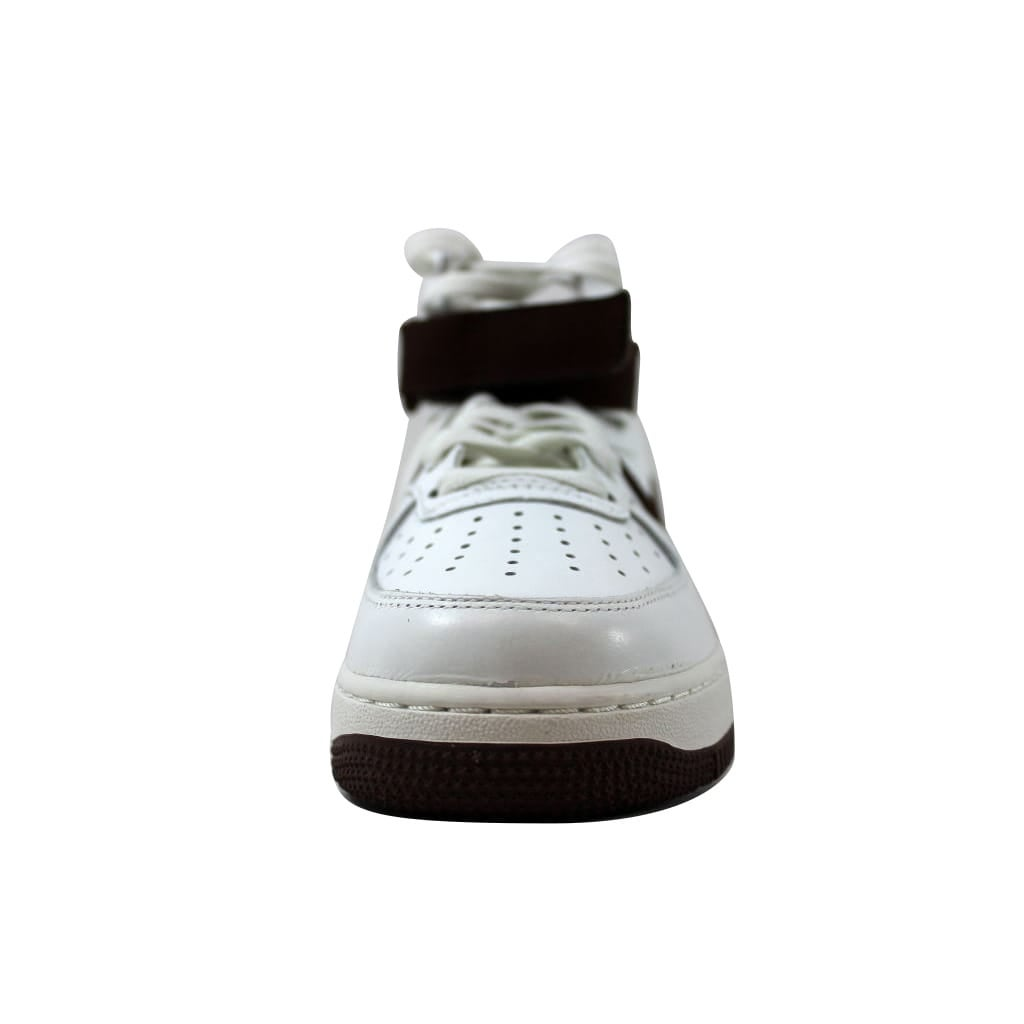 finest selection 08b7b 70d57 Shop Nike Men s Air Force 1 Hi Retro QS Summit White Chocolate 743546-102 -  Free Shipping Today - Overstock - 22546800