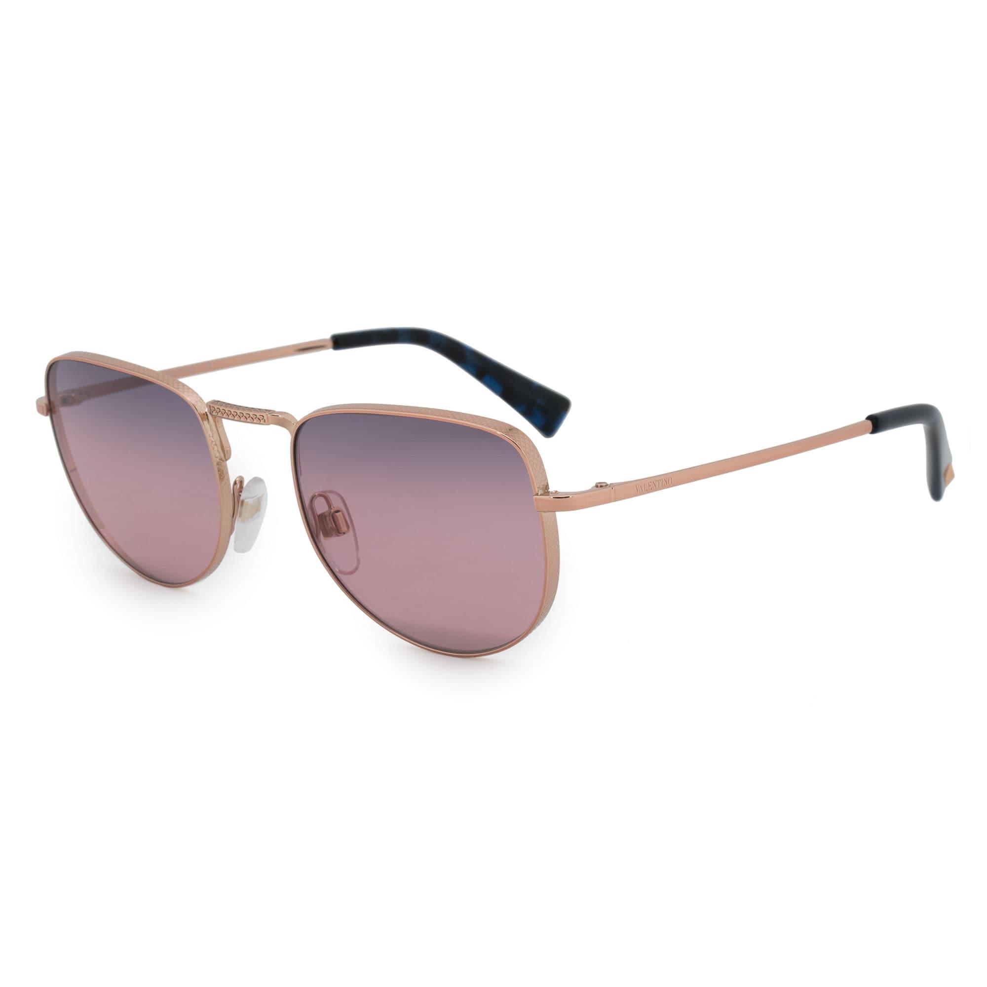 9b5cee447bc Shop Valentino Square Sunglasses VA2012 3004E6 49 - On Sale - Free Shipping  Today - Overstock - 23138930
