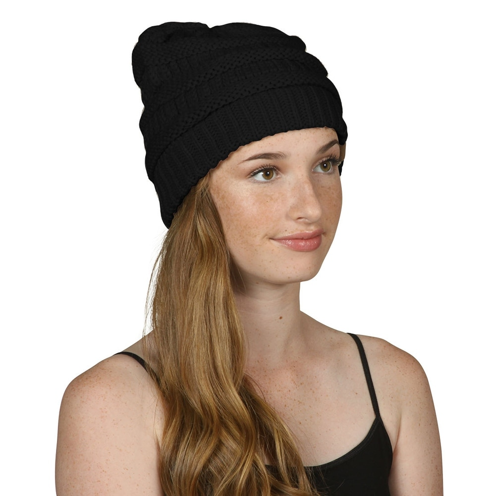 6bfd03e3dac Shop Gravity Threads CC Knit Soft Stretch Beanie Cap