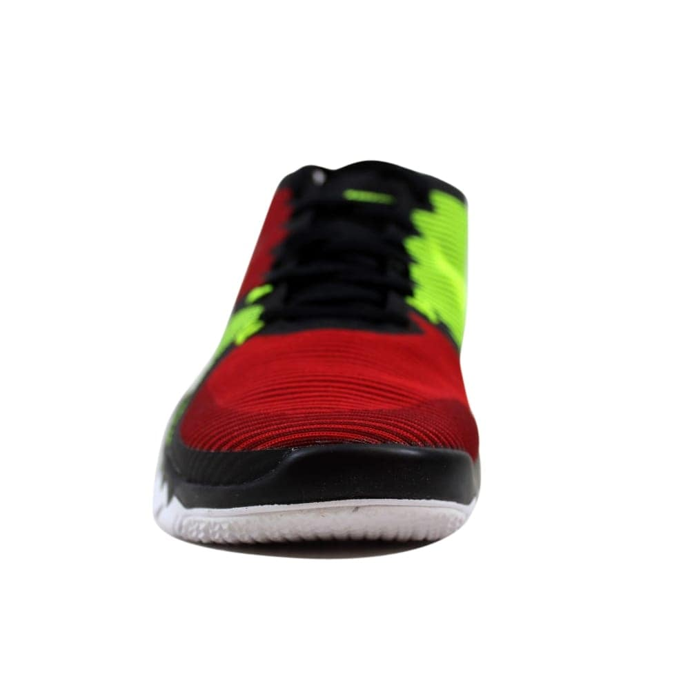 5beffc49cb2 Shop Nike Free Trainer 3.0 V4 Black Team Red-University Red-Volt 749361-066  Men s - On Sale - Free Shipping Today - Overstock - 27339864