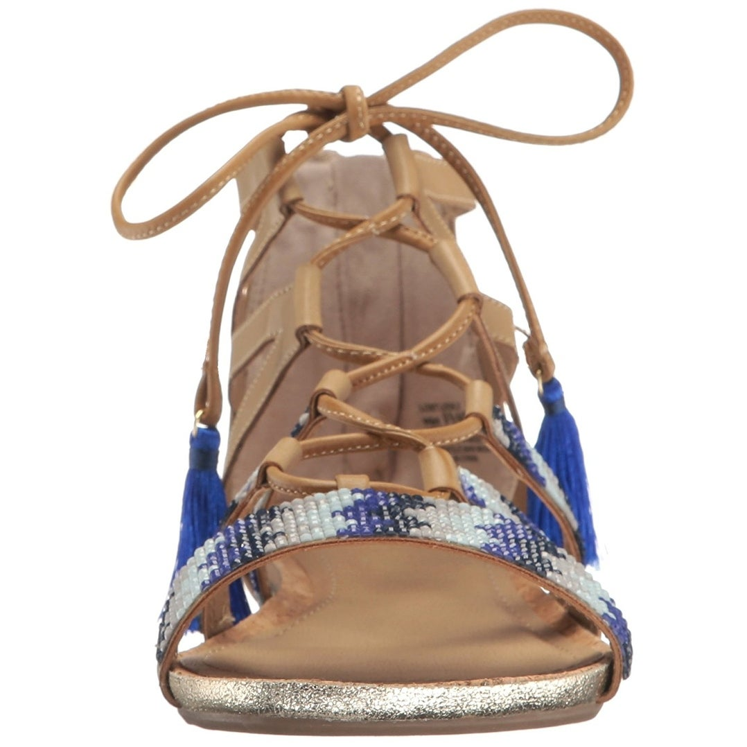 5dd700c64a8 Shop Kenneth Cole REACTION Women s Lost Look 2 Gladiator Sandal - Free  Shipping On Orders Over  45 - Overstock - 17678200