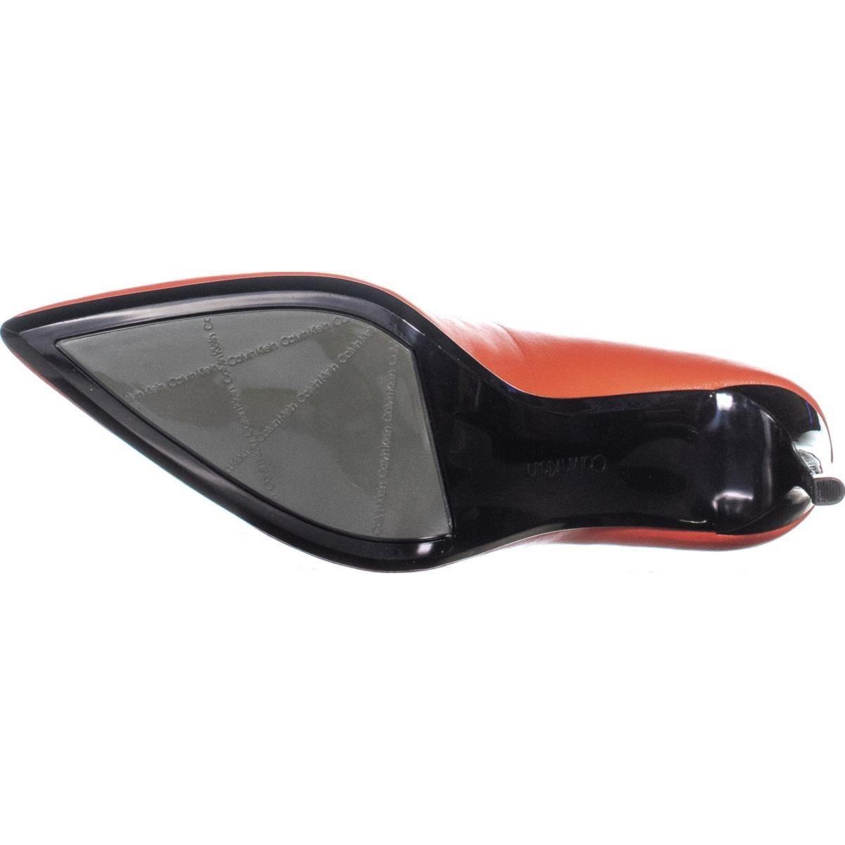 deca23bfa1dd Shop Calvin Klein Rizzo Nappa Classic Pumps
