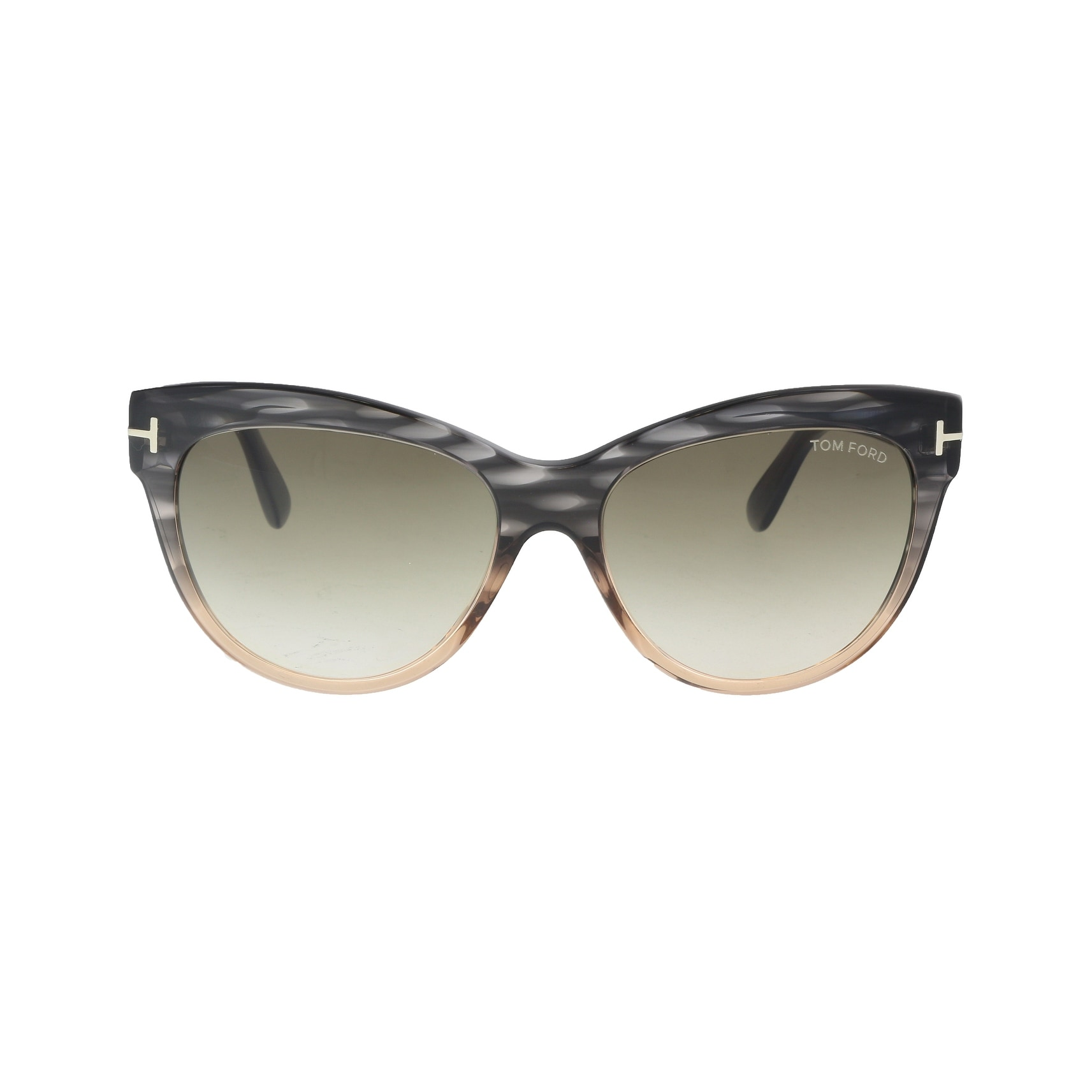 933e2dcf51 Shop Tom Ford FT0430 S 20P LILY CHARCOAL LIGHT CORAL Cateye Sunglasses -  Grey - 56-16-140 - Free Shipping Today - Overstock - 19223125