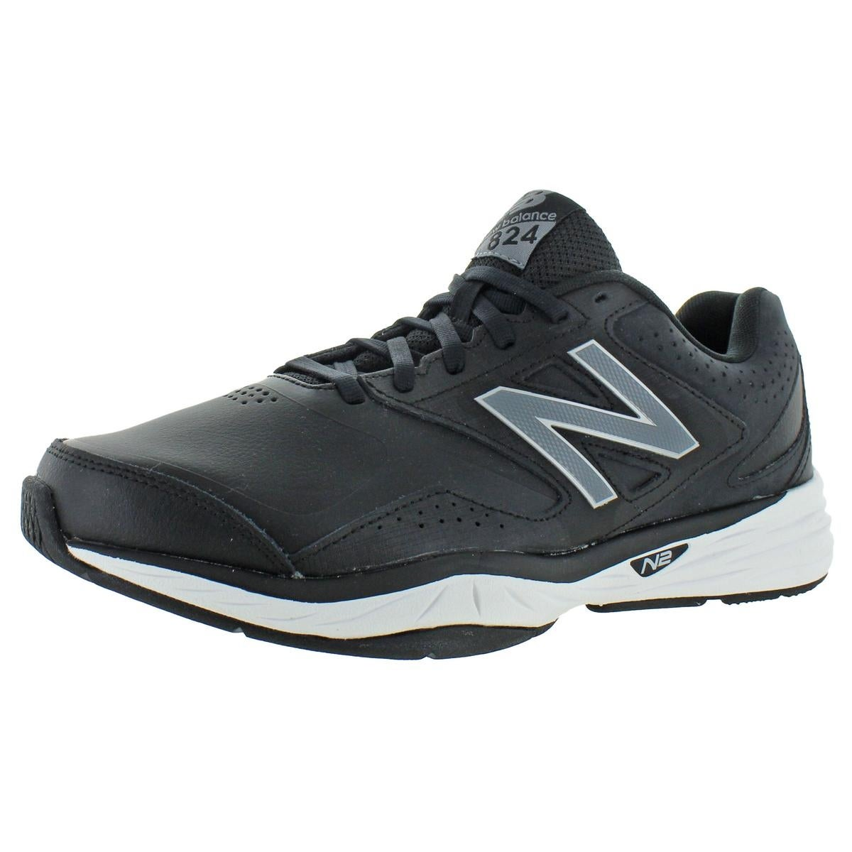 new balance trainers leather