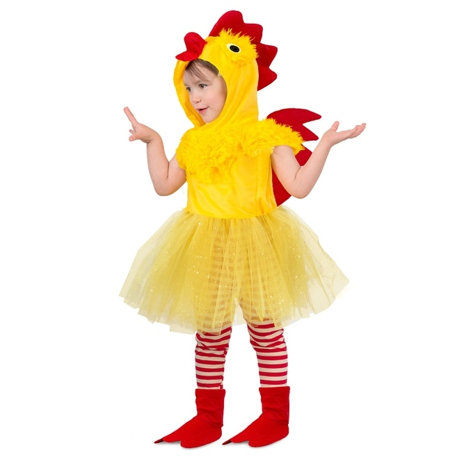 Shop Toddler Princess Chicken Suit Costume - Free Shipping On Orders Over   45 - Overstock - 23582165 366c54d9b2f