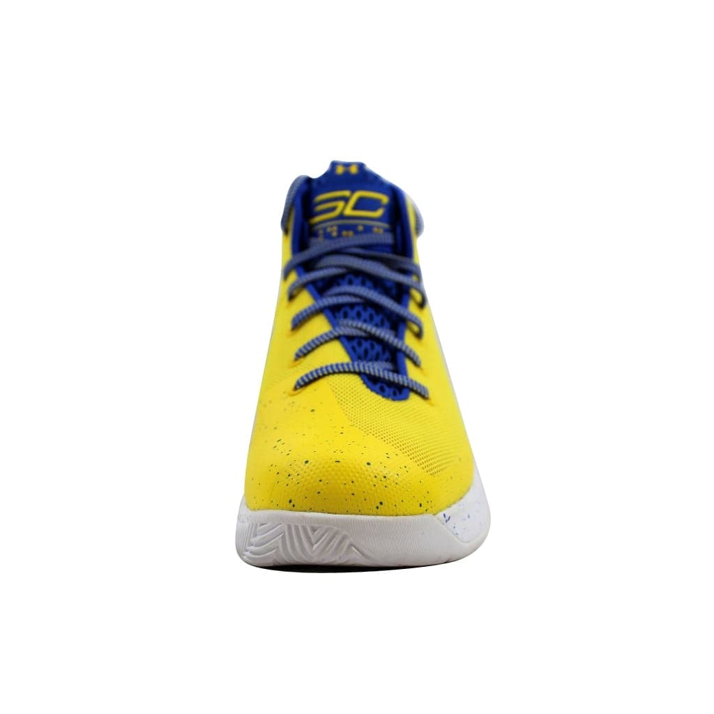7198b61ca49 Shop Under Armour Men s SC Curry 3 Zero Taxi Yellow Team Royal-Team Royal  1298308-700 - Free Shipping Today - Overstock - 23436964