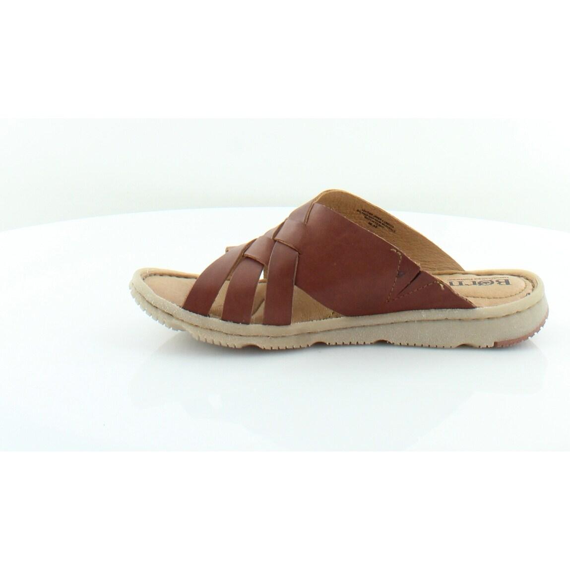 051391bcea1e Shop Born Tarpon Women s Sandals BROWN - 6 - Free Shipping Today -  Overstock.com - 27220104