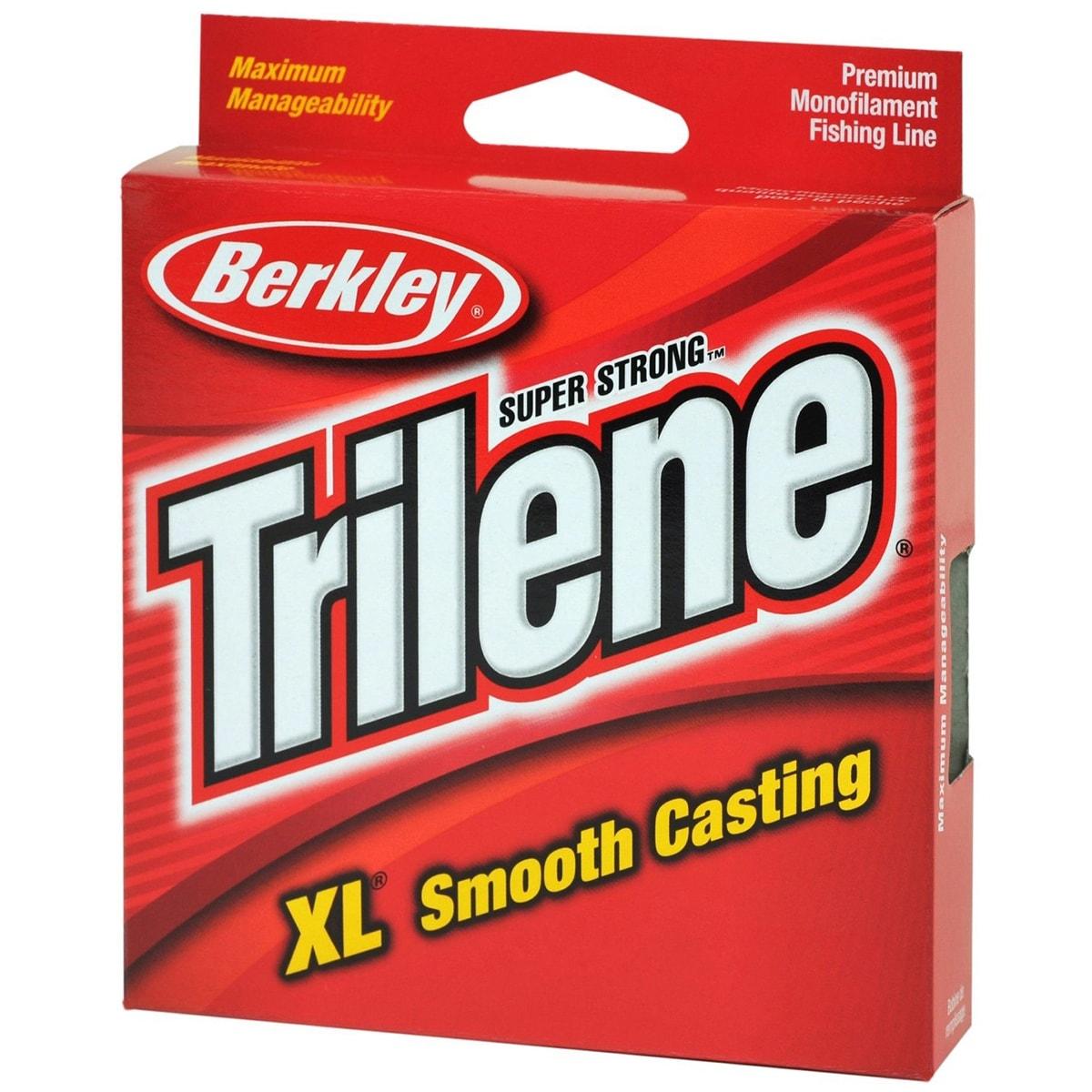 Berkley Trilene XL Smooth Casting Fl. Clear/Blue Fishing Line - Free ...