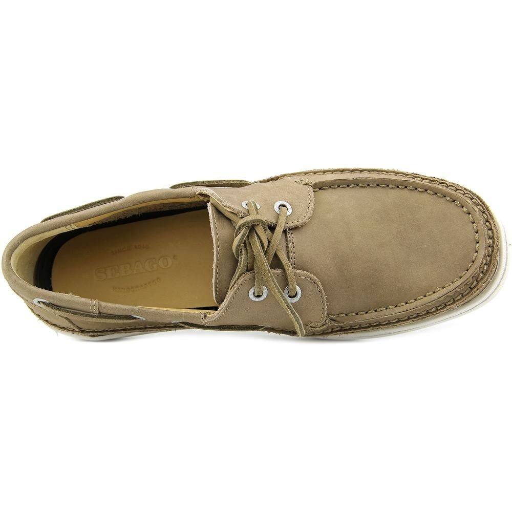 e27da43323709 Shop Sebago Ryde Two Eye Men Moc Toe Leather Boat Shoe - Free Shipping On  Orders Over $45 - Overstock - 13572965