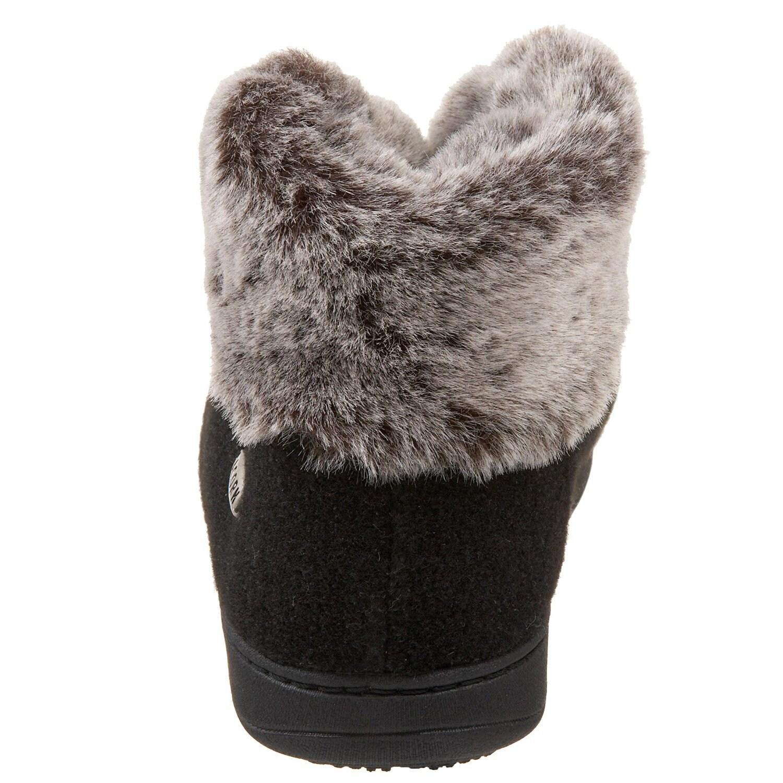 Shop Acorn Damens's Faux Chinchilla Slipper Slipper Chinchilla Bootie Free Shipping On ... 3a841a