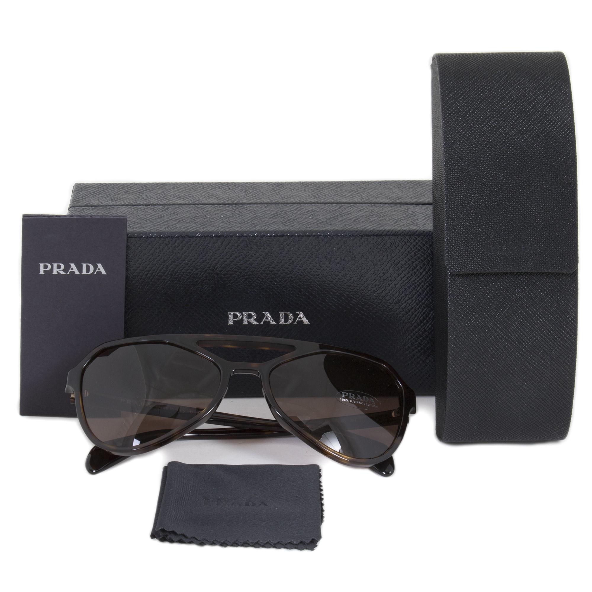 50ac5ca90d6 Shop Prada Sunglasses PR22RS 2AU8C1 58