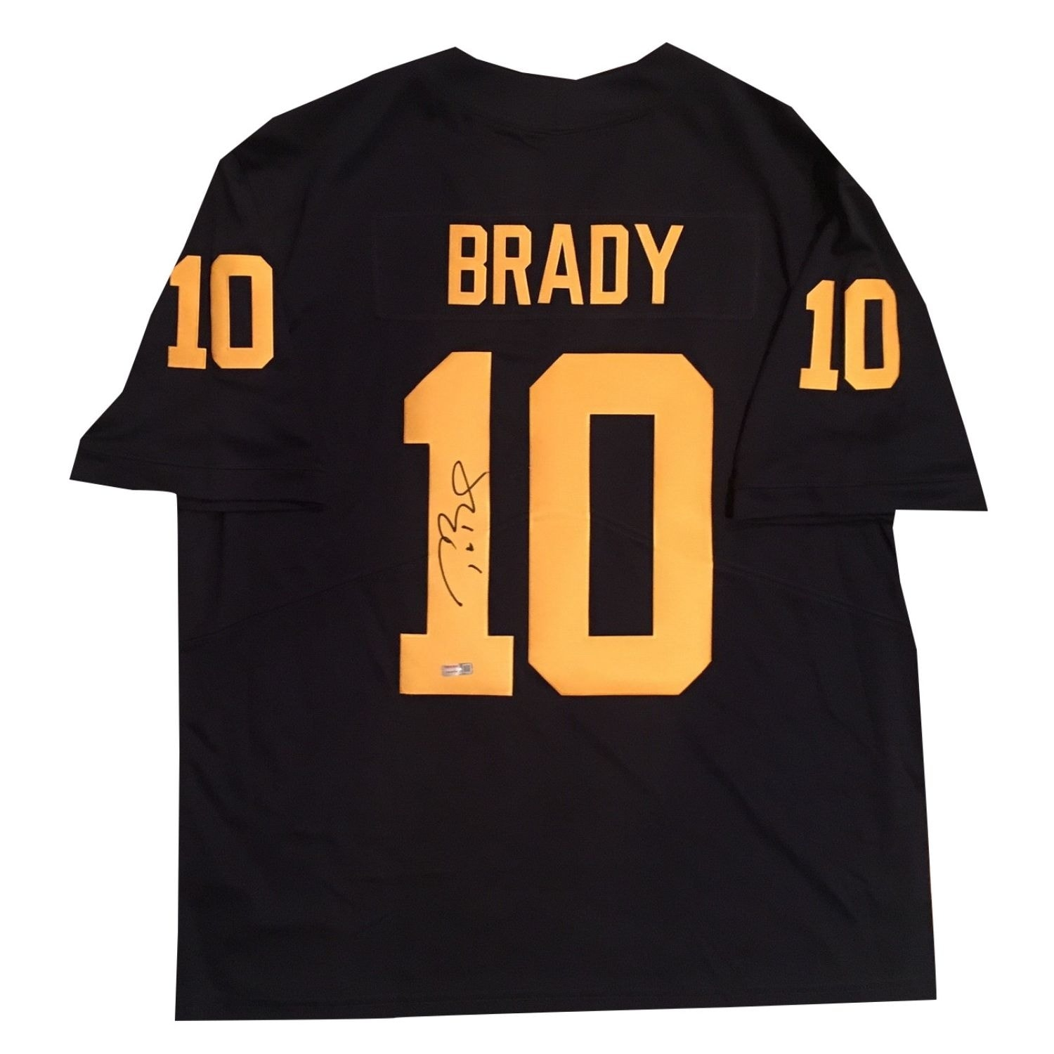 8e18d1408f4 Shop Tom Brady Autographed Michigan Wolverines Signed Nike Football Jersey  TRISTAR COA - Free Shipping Today - Overstock - 19454839