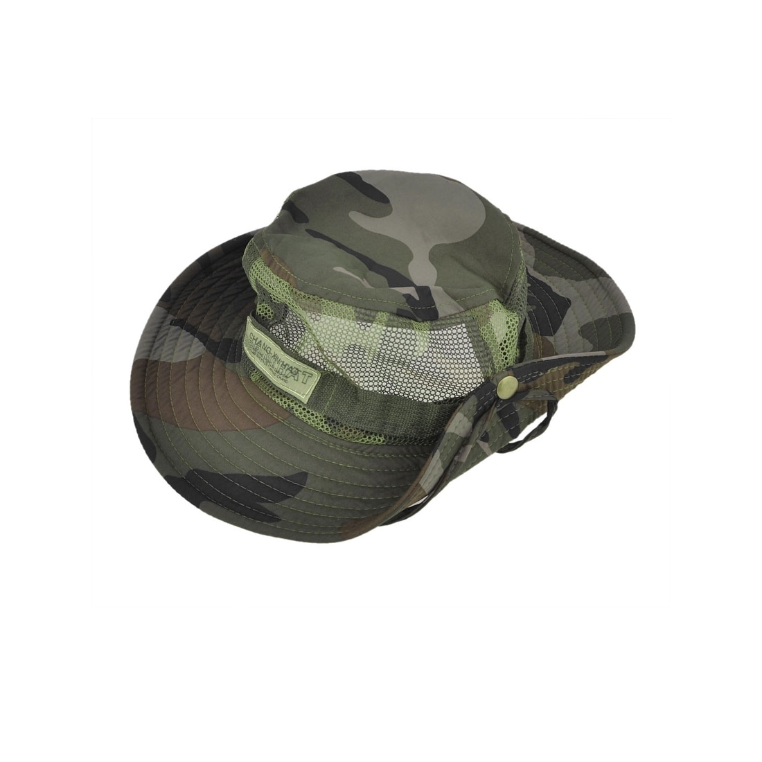 7b0d5181981 Shop Unique Bargains Men Women Adjustable Nylon Hiking Fishing Cap Sun Hat  Mesh Style - Free Shipping On Orders Over  45 - Overstock - 18438462