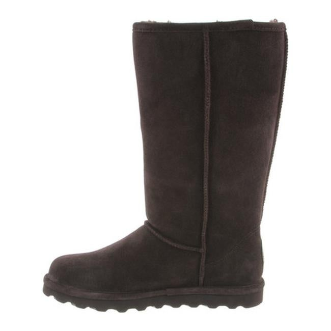 8cbc2292ecf0 Shop Bearpaw Women s Elle Tall Boot Chocolate II Suede - On Sale ...