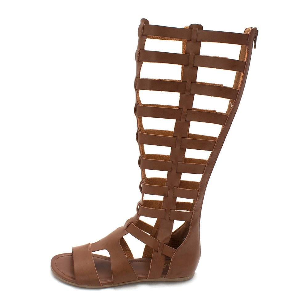 e178ba28e64 Shop MIA Womens Duenas Open Toe Casual Gladiator Sandals - Free ...