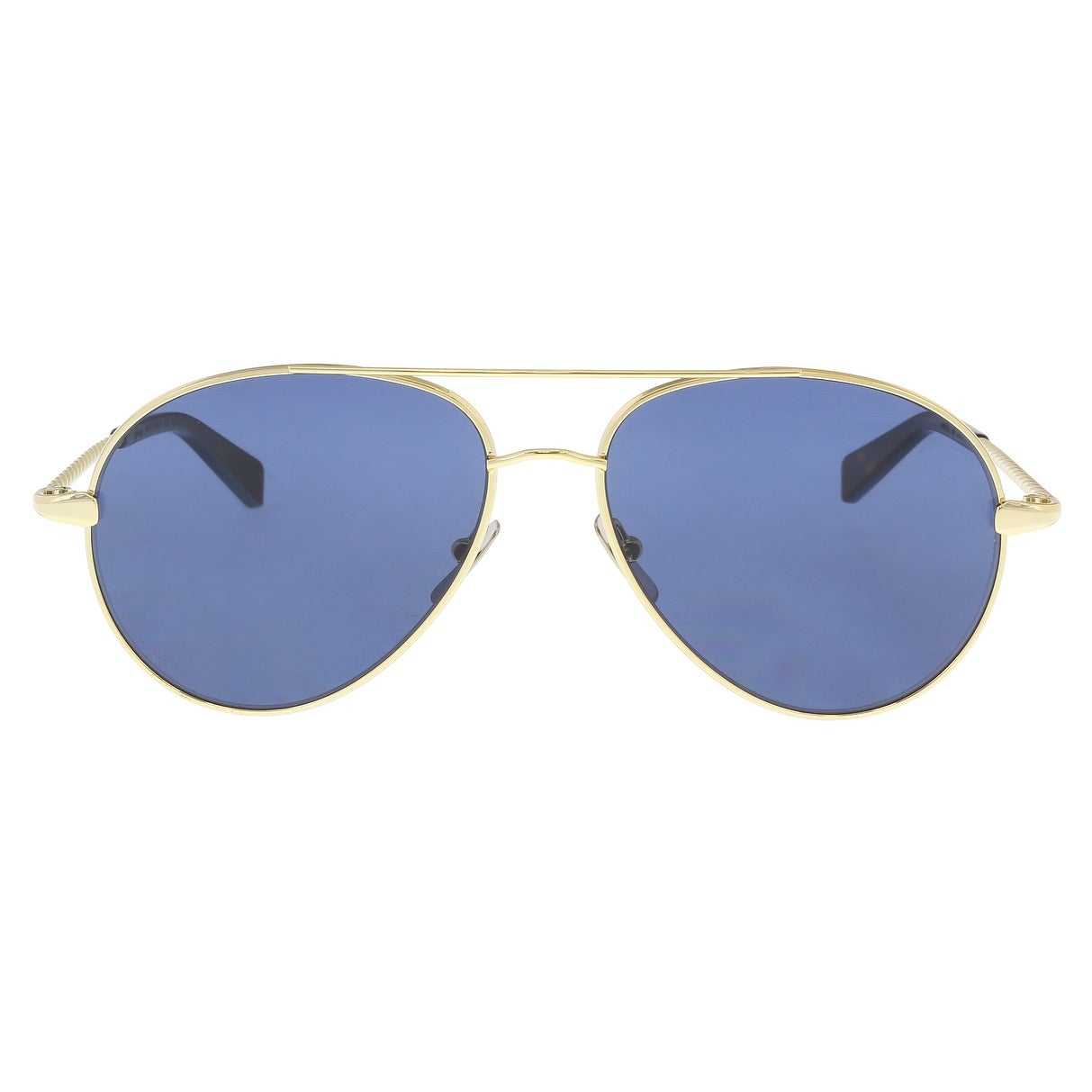 8e76a93e5b Shop Brioni BR0034S-003 Gold Aviator Sunglasses - 67-15-145 - Free Shipping  Today - Overstock - 21158387