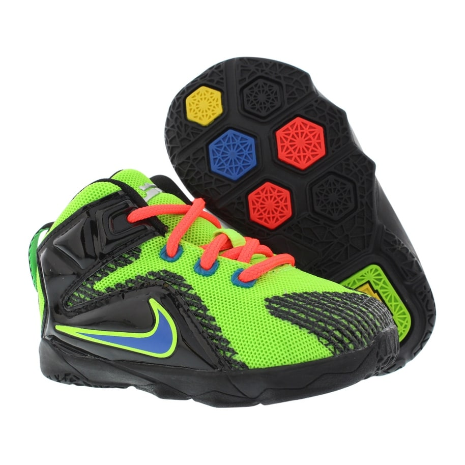 03adb8cc6e2 Shop Nike Lebron XII Infant s Shoes - 5C - Free Shipping Today - Overstock  - 22678111