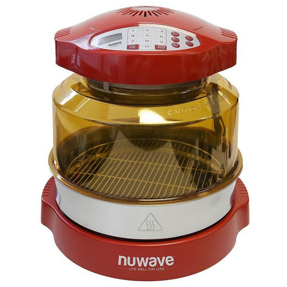 Shop NuWave Oven Pro Plus with Extender Ring Kit (Red) - Free Shipping  Today - Overstock.com - 20219866
