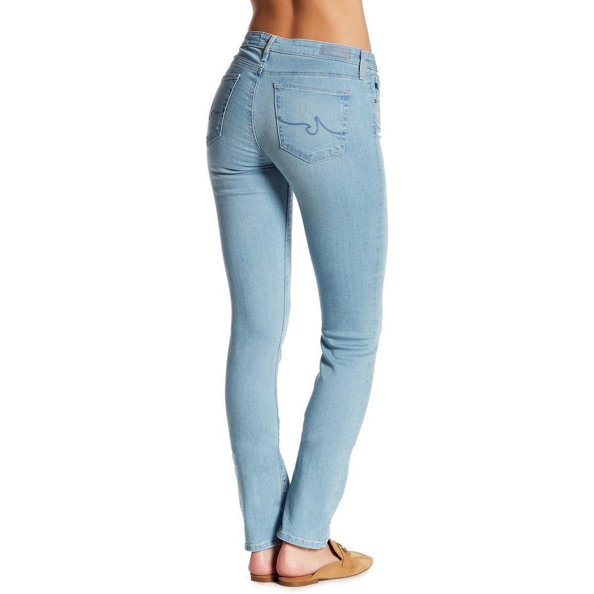 ab1a6e1224c2 Shop AG Blue Womens Size 31x32 The Harper Essential Straight Leg Jeans -  Free Shipping Today - Overstock - 22202608
