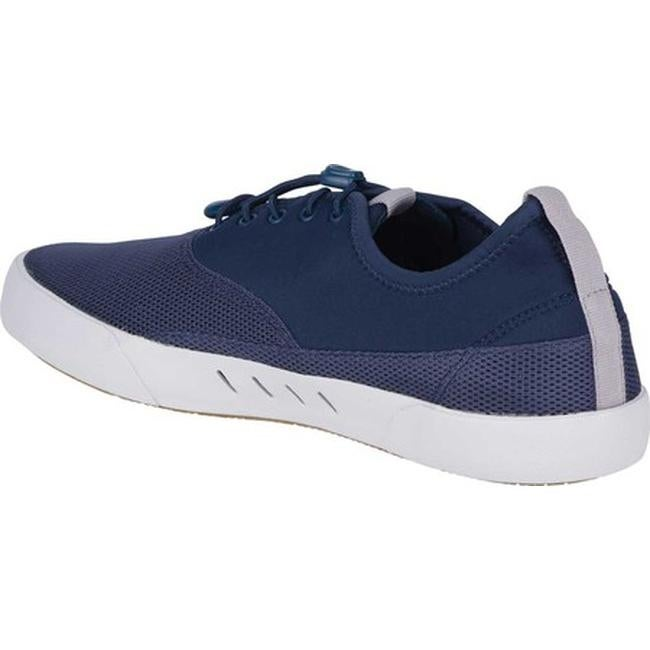 8c09e41c05d6 Shop Sperry Top-Sider Men s Maritime H2O Bungee Lace Sneaker Navy Mesh Neoprene  - Free Shipping Today - Overstock - 27100721