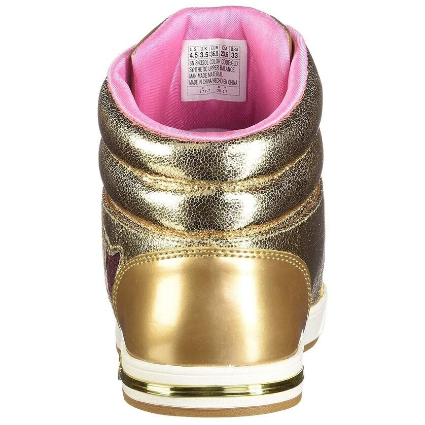 70cec73c594d6 Skechers Kids Girl's Shoutouts 84320L Gold 11 M Us Little Kid