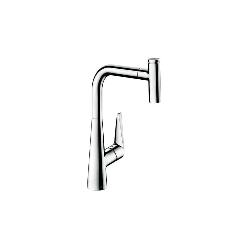 Shop Hansgrohe 72821 Talis S 1.75 GPM Single Hole Kitchen Faucet ...