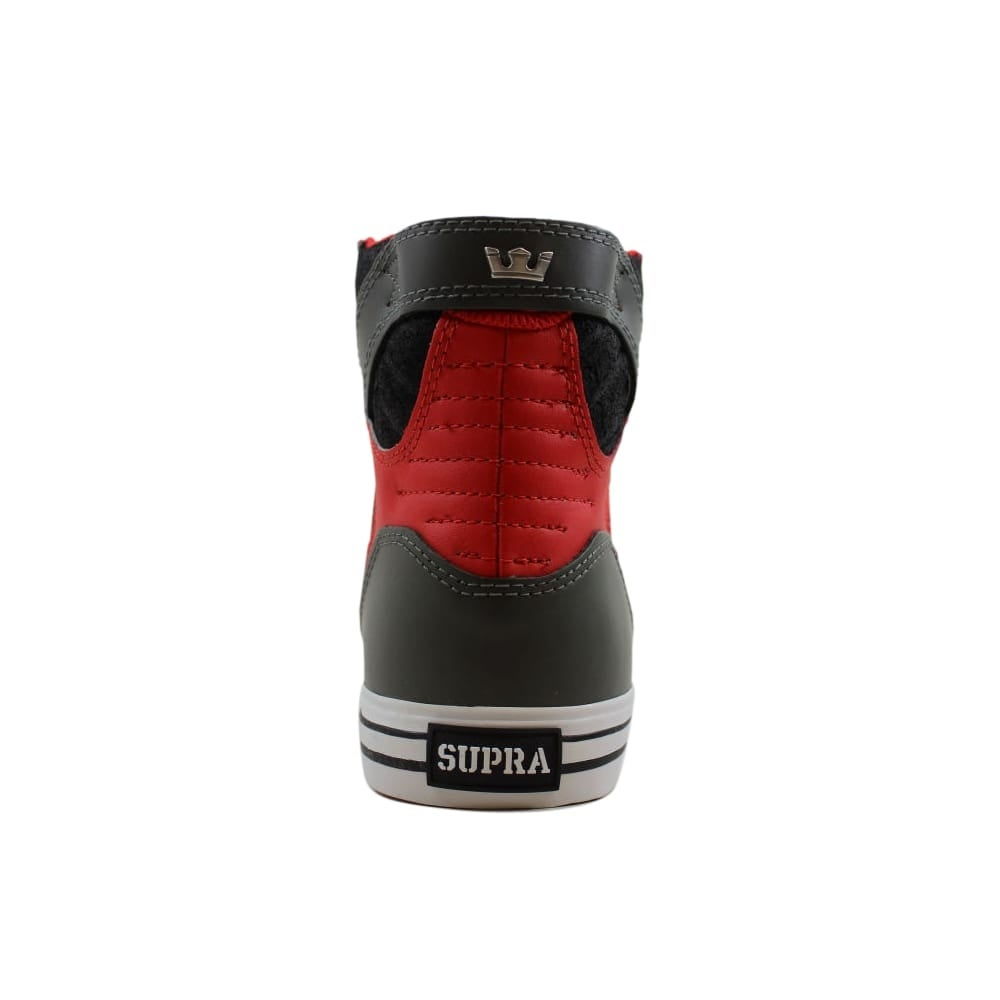 1d941b299e5 Shop Supra Skytop Grey/Red-Black-White S18171 Men's - Free Shipping ...