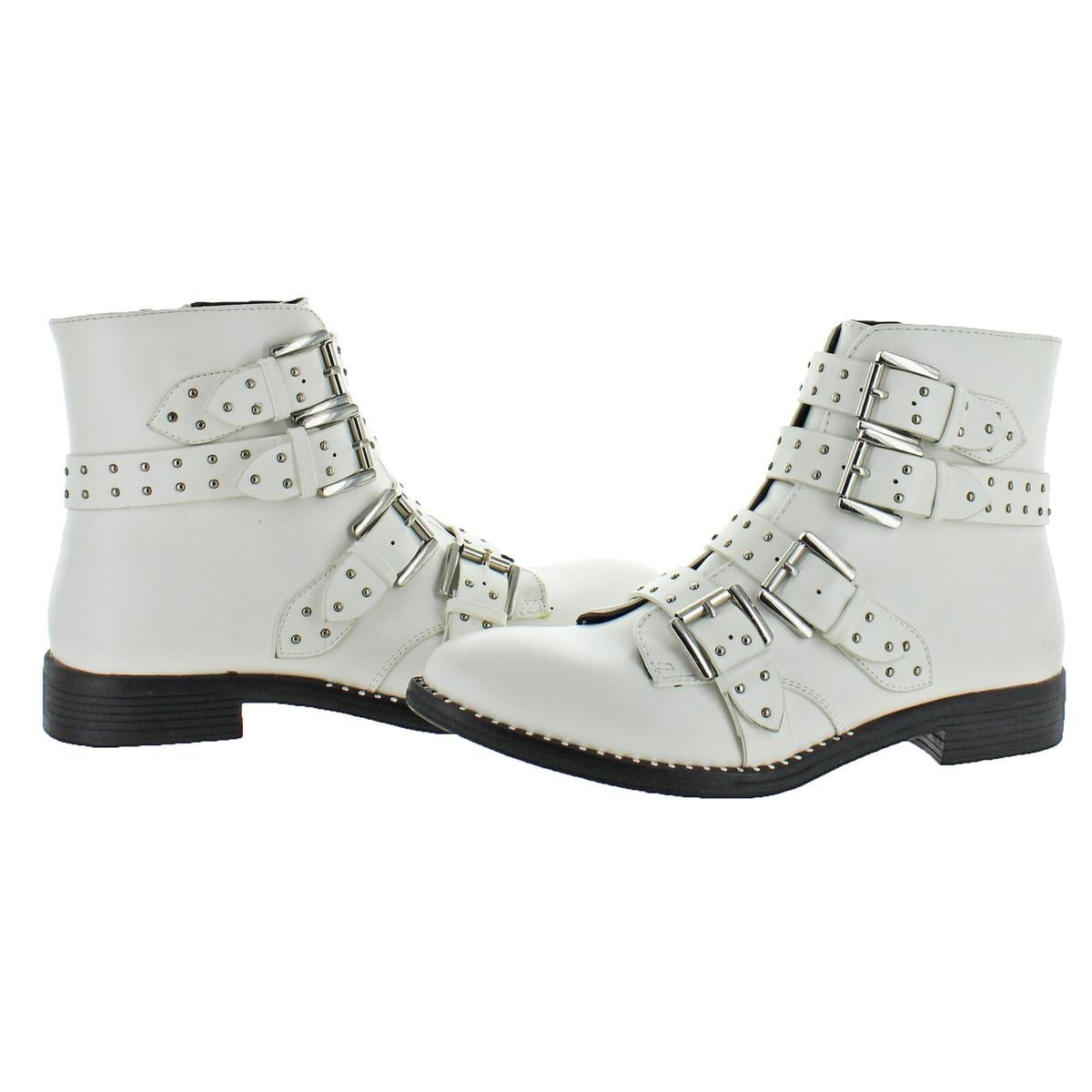 662edbe7468 Steve Madden Womens Reena Ankle Boots Studded Bootie