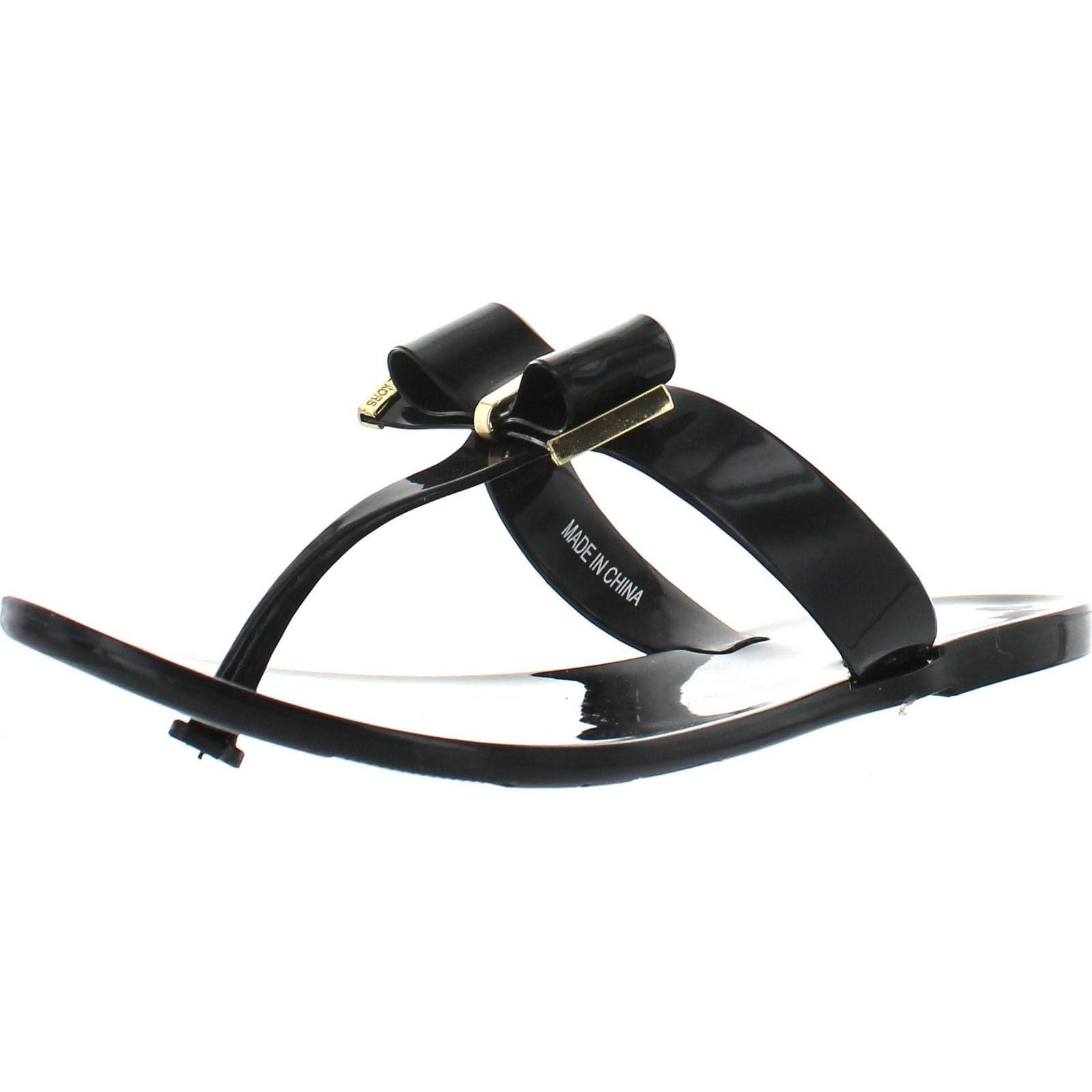 d7fc50495 Shop Michael Kors Jelly Kayden Fashion Flip Flop Sandals - Free ...