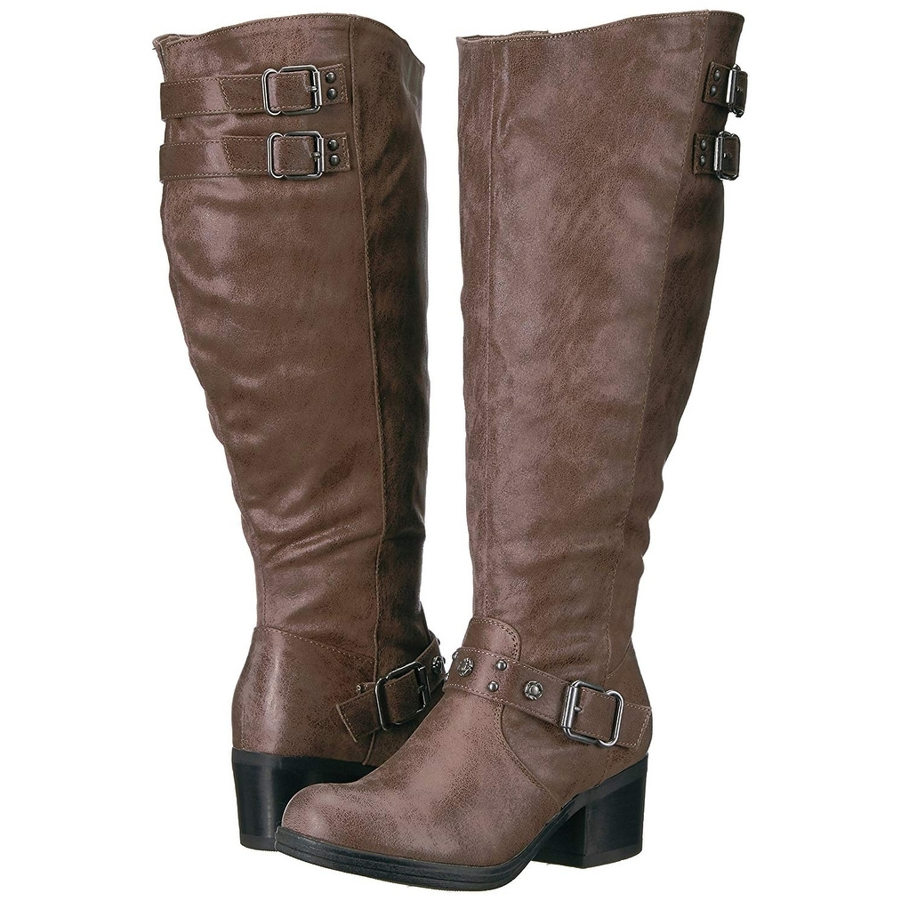 856125b2cff Shop Carlos by Carlos Santana Womens Cara Fabric Closed Toe Mid-Calf  Fashion Boots - On Sale - Free Shipping On Orders Over  45 - Overstock.com  - 22901854