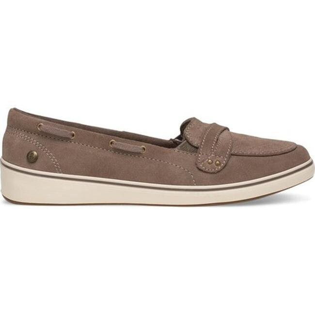 c5a75194cb Shop Grasshoppers Women's Windham Quilted Boat Shoe Walnut Suede ...