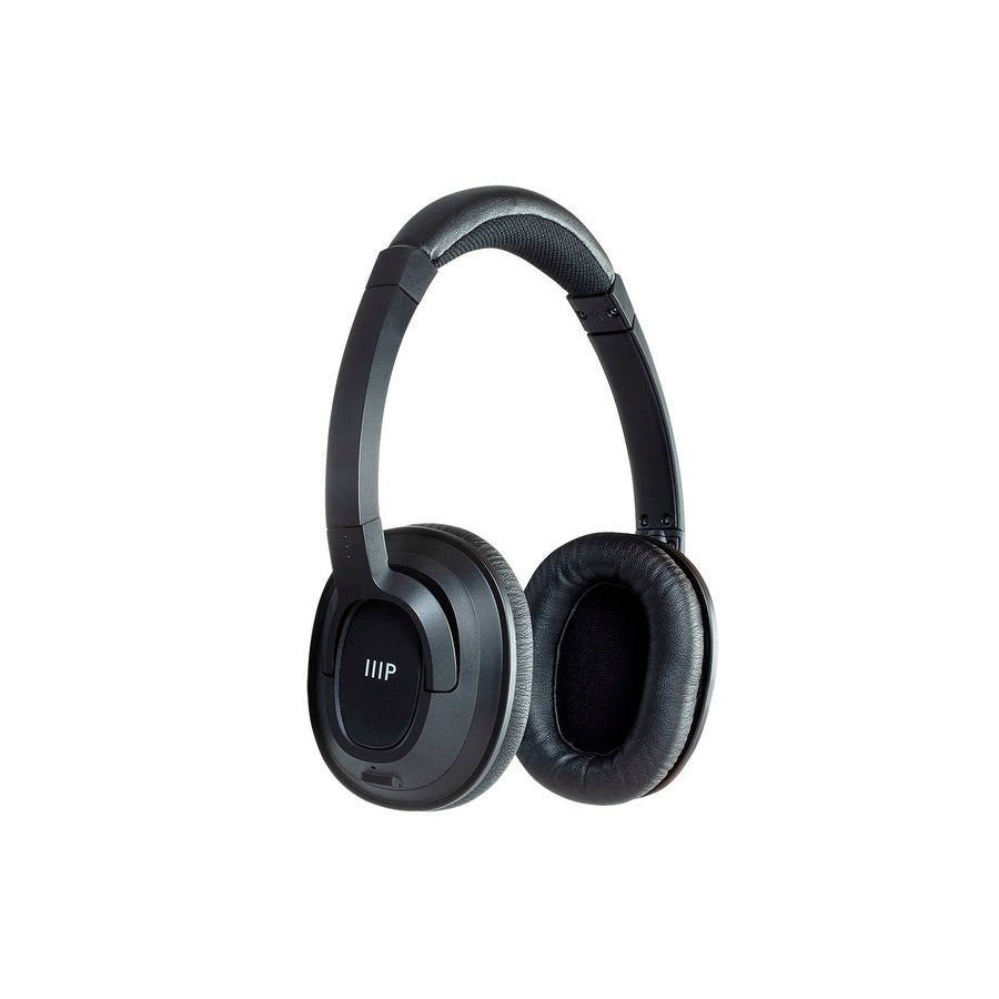 652a0d39ad27c8 Monoprice BT-210 On Ear Wireless Bluetooth Headphone, Lightweight And  Comfortable Perfect For The Home Or Office
