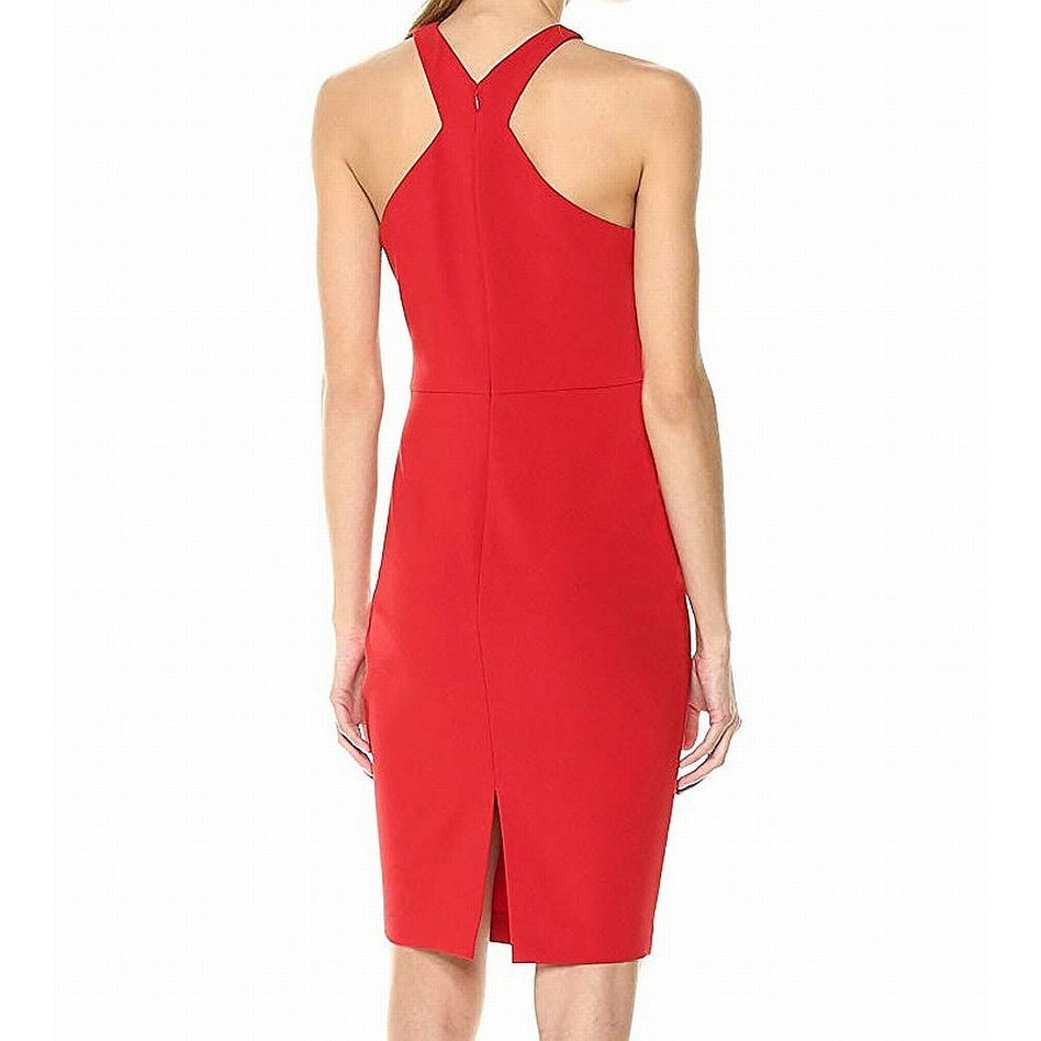 1e93560d95 Shop LIKELY Red Women s Size 00 Carolyn Halter Racerback Sheath Dress -  Free Shipping Today - Overstock - 27984377