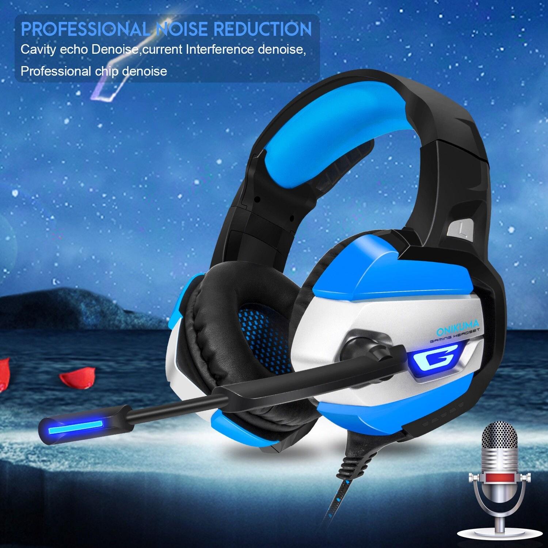 ONIKUMA K5 Stereo Gaming Headsets