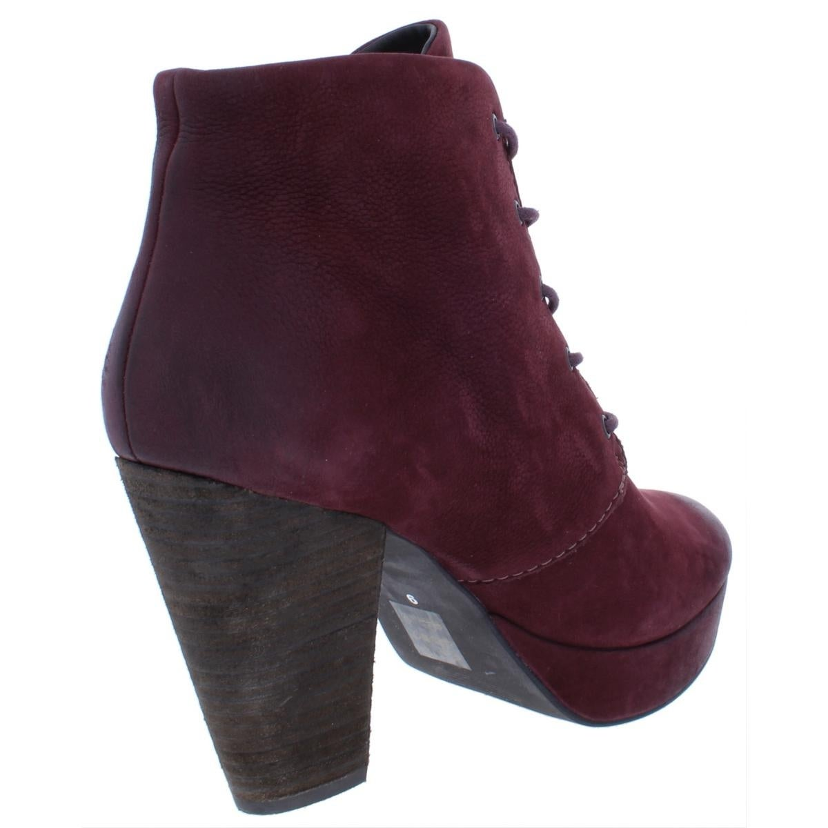 526dd06bf66 Shop Steve Madden Womens Raspy Ankle Boots Leather Lace Up - 9 Medium (B