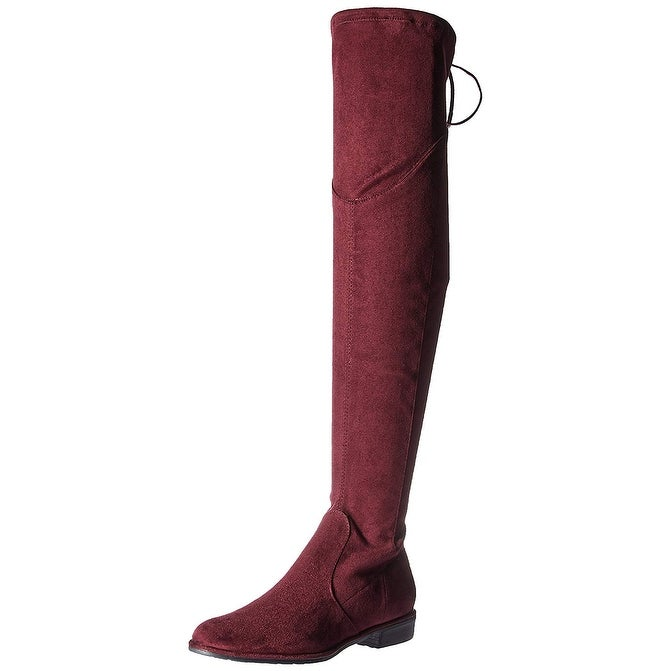 61da2a715ce Shop Marc Fisher Womens MFHULIE Almond Toe Knee High Fashion Boots - Free  Shipping On Orders Over  45 - Overstock - 22478654