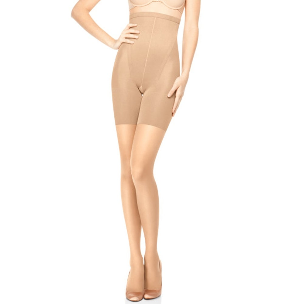 370adfb26d1 Shop SPANX In-Power Line Hi-Waisted Body Shaping Sheers 914 - Free Shipping  On Orders Over  45 - Overstock - 20785438