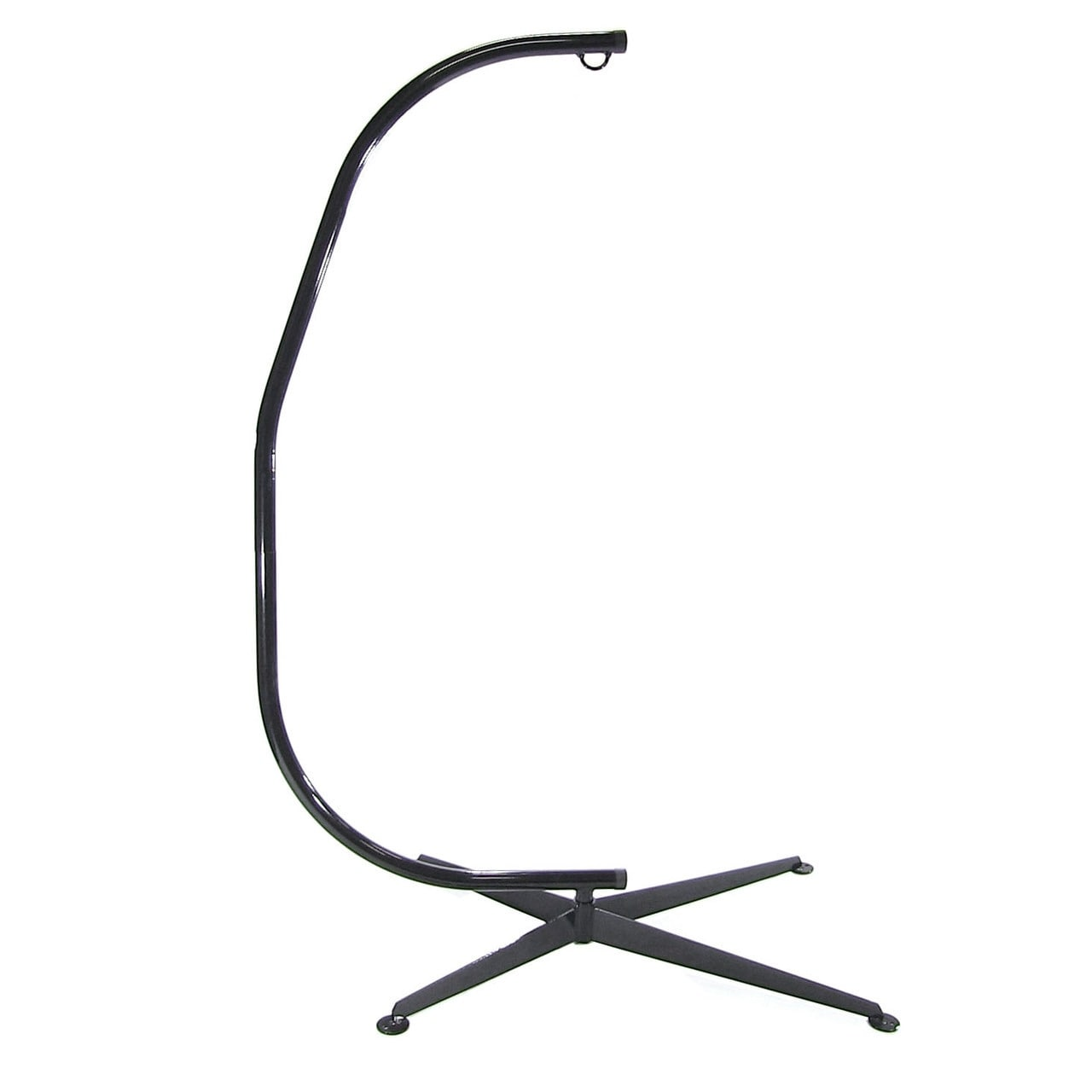 Sunnydaze Durable C-Stand for Hanging Hammock Chairs