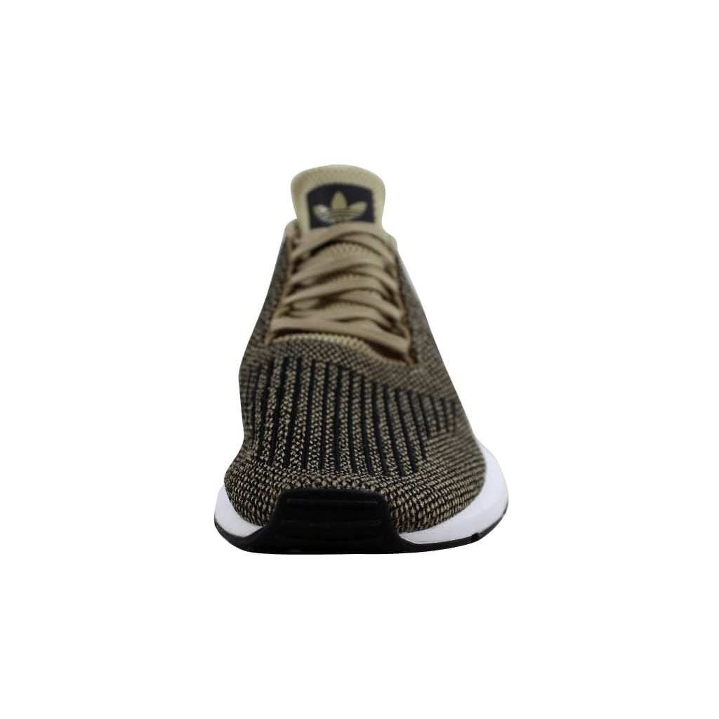 9215ab1e391c18 Shop Adidas Men s Swift Run Raw Gold Black-White CQ2117 - Free Shipping  Today - Overstock - 22531358