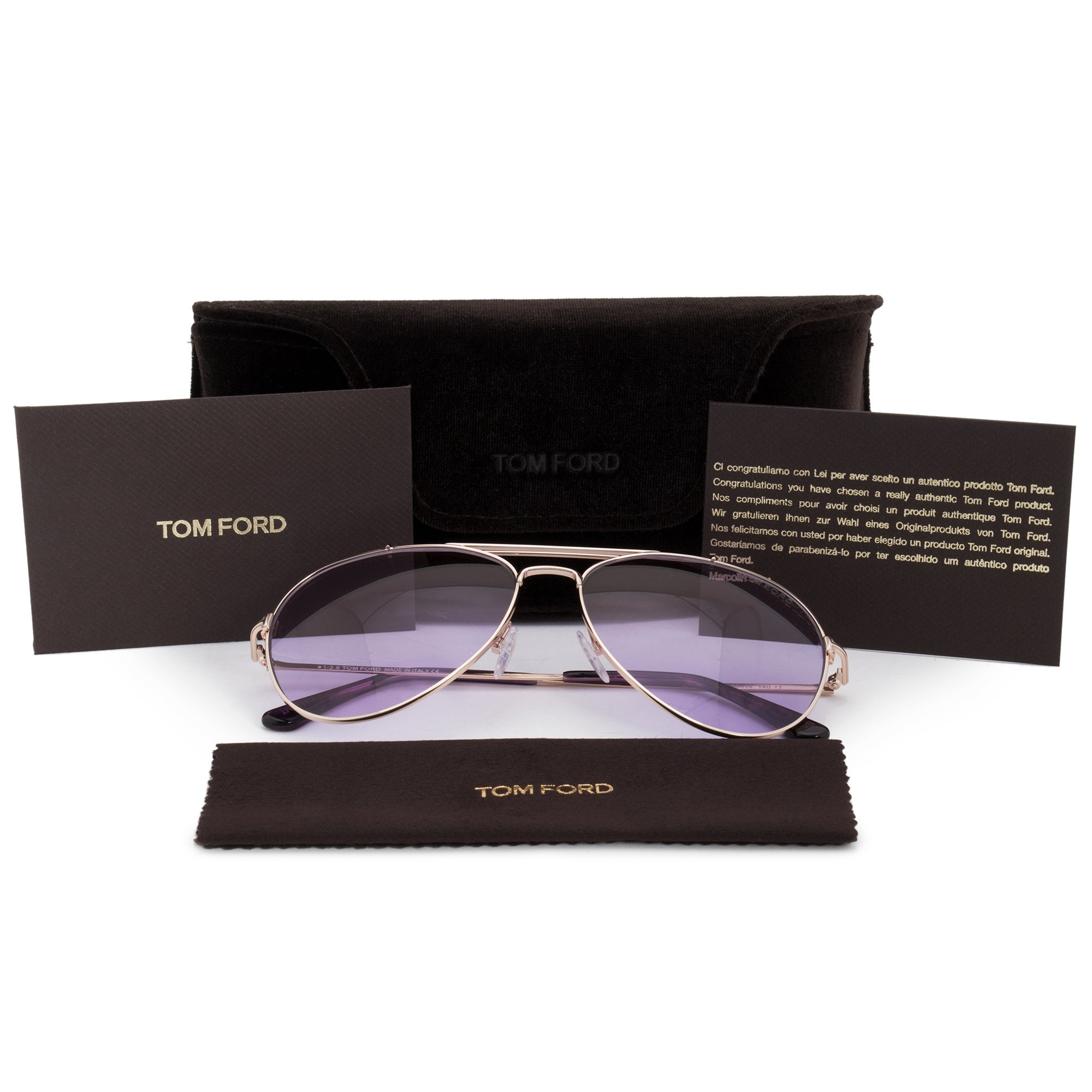 9aee25675622 Shop Tom Ford Indiana Aviator Sunglasses FT0497 28Y 58 - On Sale - Free  Shipping Today - Overstock - 19623213