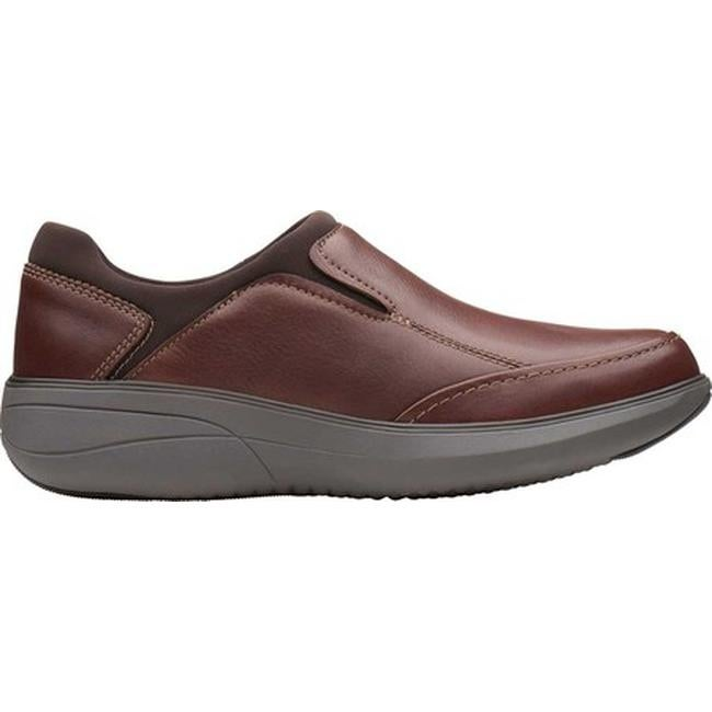 4a60c5a49 Shop Clarks Men s Un Rise Step Slip-On Mahogany Tumbled Leather - Free  Shipping Today - Overstock - 24331566