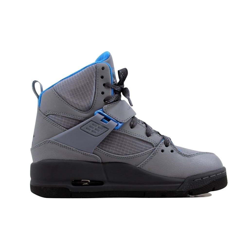 wholesale dealer 79e34 fb4d4 Shop Nike Grade-School Air Jordan Flight 45 Trek Stealth Dark Grey-Photo Blue  467929-007 - Ships To Canada - Overstock - 22531305