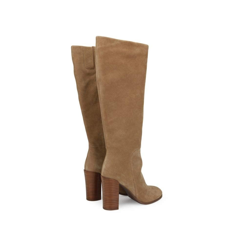 fc55bd21ffa Kenneth Cole New York Womens Justin Leather Closed Toe Knee High Fashion  Boots