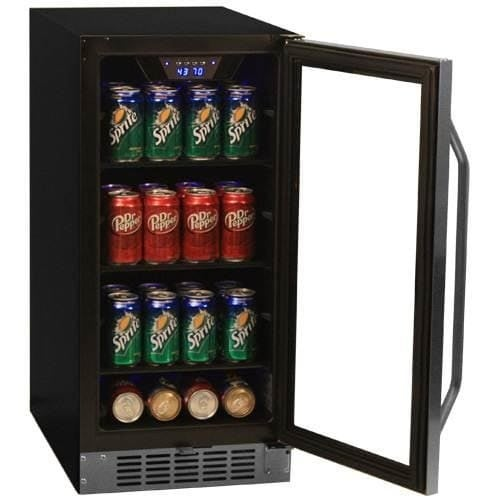 built in beverage refrigerator. Shop EdgeStar CBR901SG 15 Inch Wide 80 Can Built-In Beverage Cooler With Blue LED Lighting - Free Shipping Today Overstock.com 14270303 Built In Refrigerator