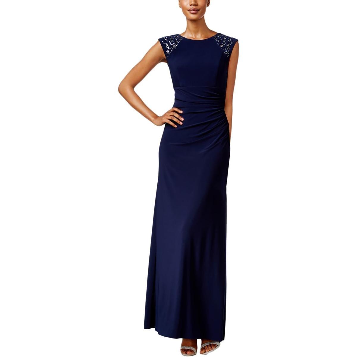 Shop Xscape Womens Evening Dress Embellished Full-Length - Free ...