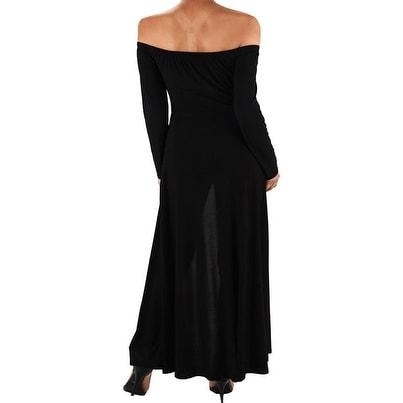Shop Funfash Plus Size Women Black Pants Leggings Long Cape Dress