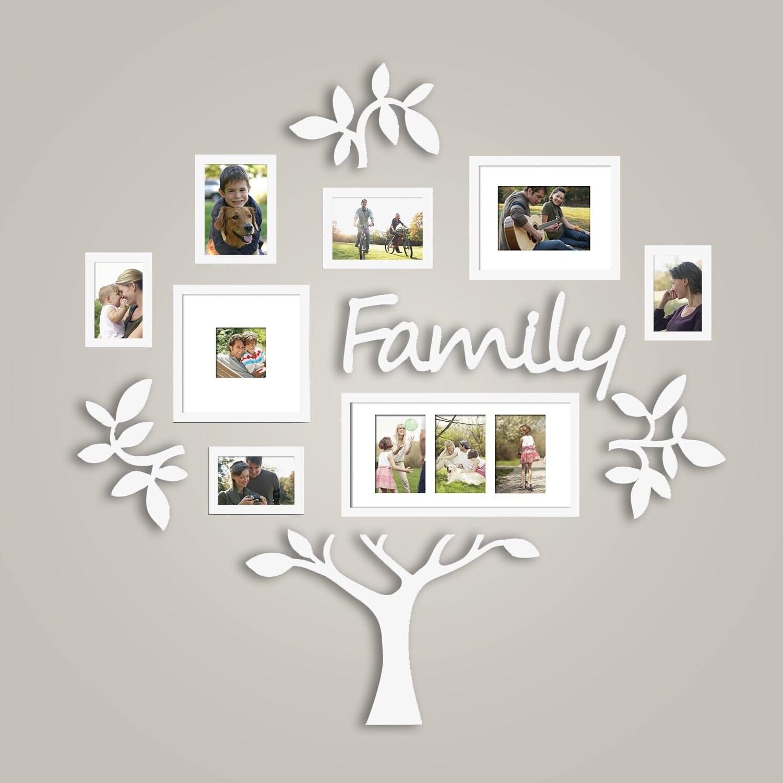 Shop Hello Laura Family Tree Photo Frame Set College Photo Frame