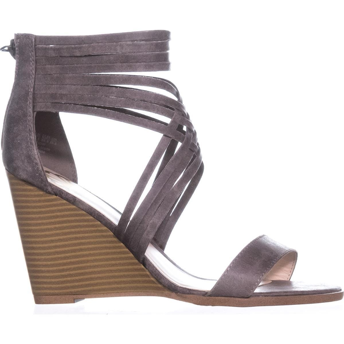 8525faf582 Shop Fergalicious Hunter Strappy Wedge Sandals, Doe - Free Shipping On  Orders Over $45 - Overstock - 20814075