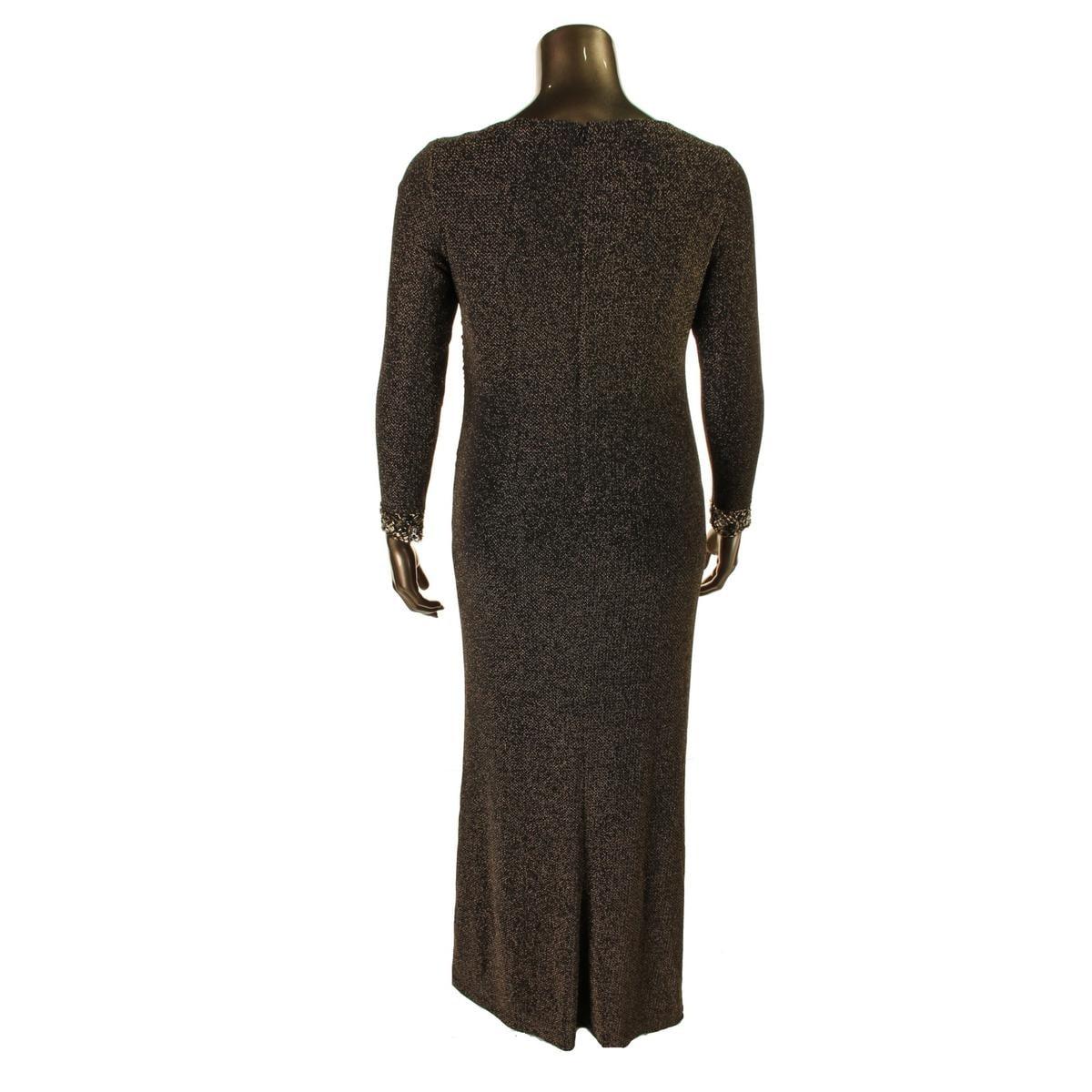 Patra Womens Evening Dress Metallic Prom Free Shipping On Orders